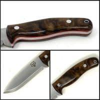 Mk II TBS Timberwolf Bushcraft Knife - Turkish Walnut
